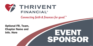Picture of Thrivent Banner- Event Sponser | 36 x 72
