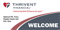 Picture of Thrivent Banner- Welcome | 36 x 72