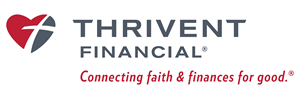 Picture of Thrivent Banner with tagline | 24 x 72