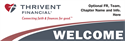 Picture of Thrivent Banner- Welcome | 24 x 72