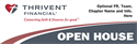 Picture of Thrivent Banner- Open House | 24 x 72