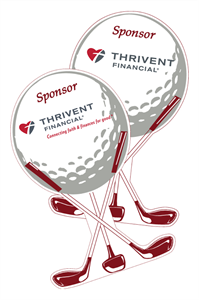 Picture of Golf Ball Sponsor Sign