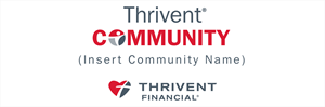 Picture of Thrivent Community Banner | 24 x 72